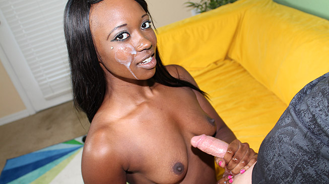 Skyler Wants The D Interracial Handjob Video